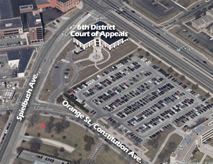 Court of Appeals Detail Map